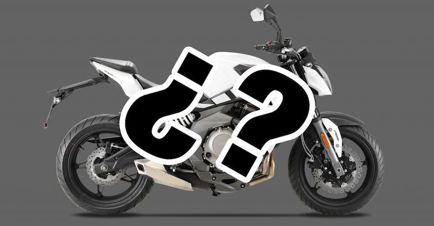 Kymco prepara su primera naked con el motor de la Kawasaki ER-6