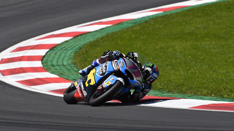 Alex Márquez, el más rápido en el libre 1 de Moto2