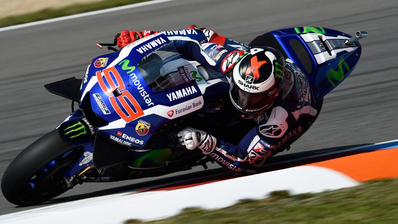 Jorge Lorenzo, el más rápido en el test de Brno