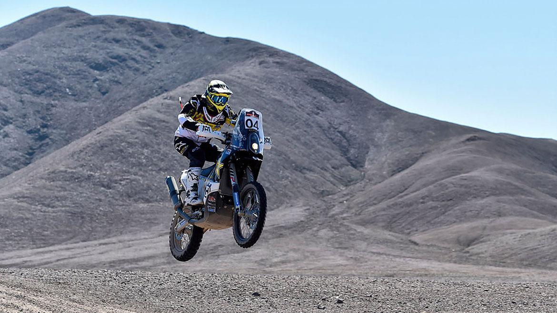 Pablo Quintanilla consigue la victoria en la cuarta prueba del Rally de Atacama