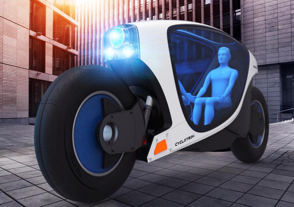 Cycletron es la nueva propuesta de moto autónoma