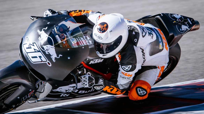KTM continúa con su preparación para su llegada a MotoGP