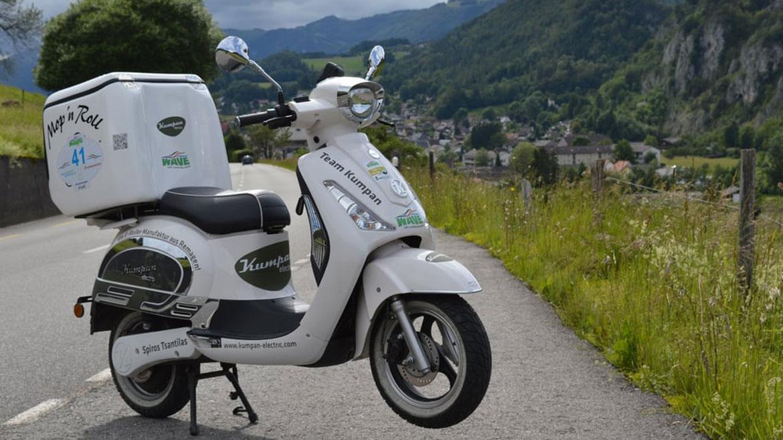 ¿Es posible recorrer Europa con un scooter eléctrico?