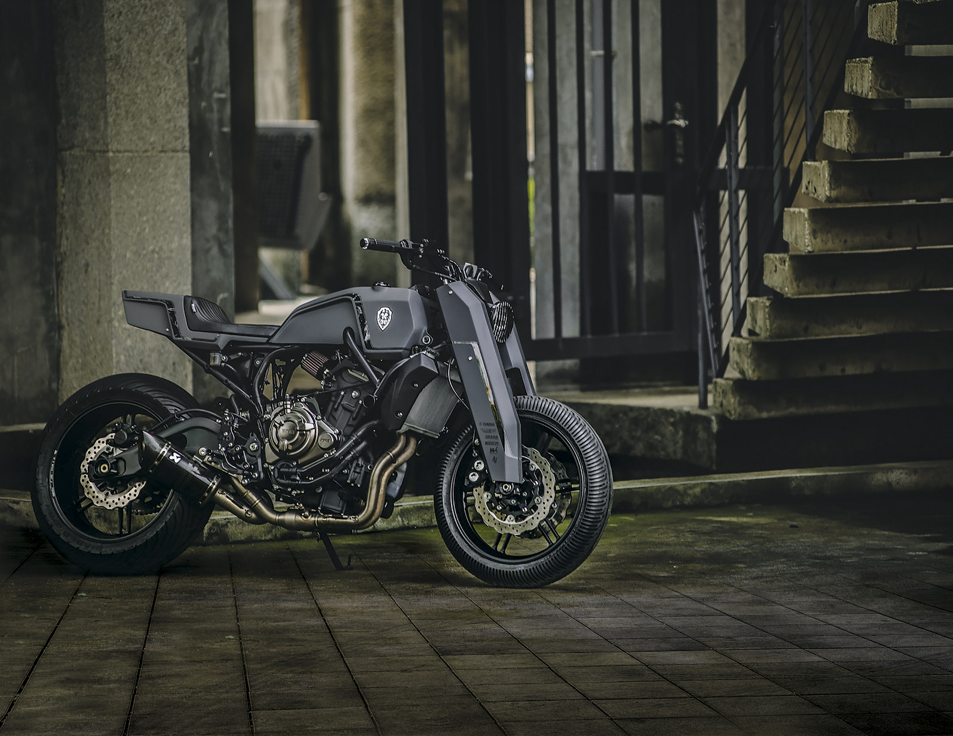 Onyx Blade de Rough Crafts, la Yamaha MT-07 hecha músculo