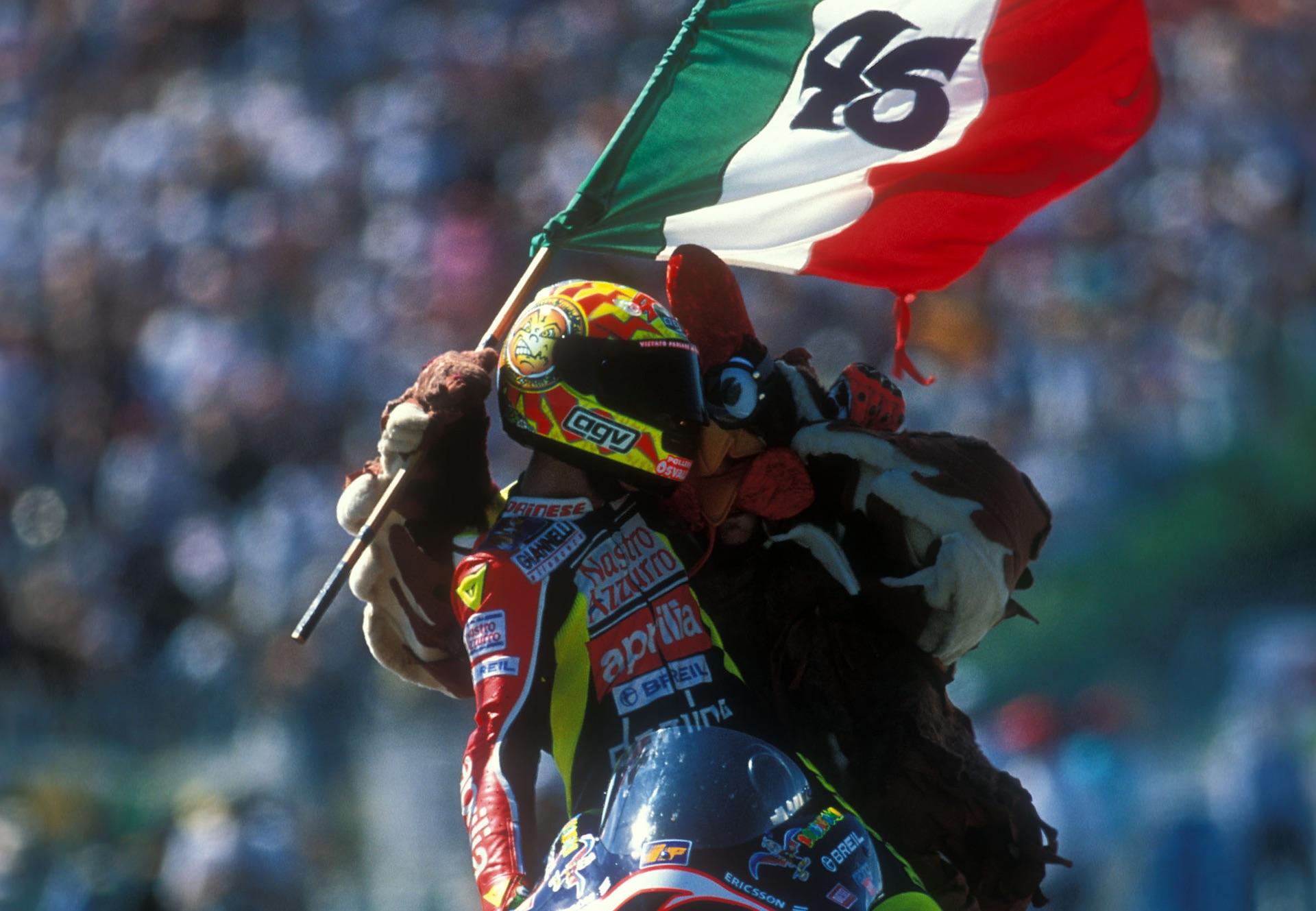 Las celebraciones más sonadas de Valentino Rossi