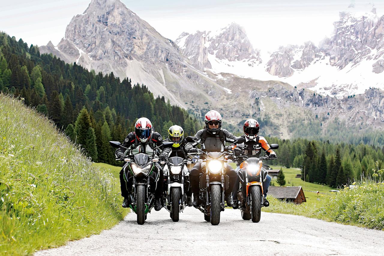 Alpen Master 2016: comparativa motos de iniciación aptas para A2
