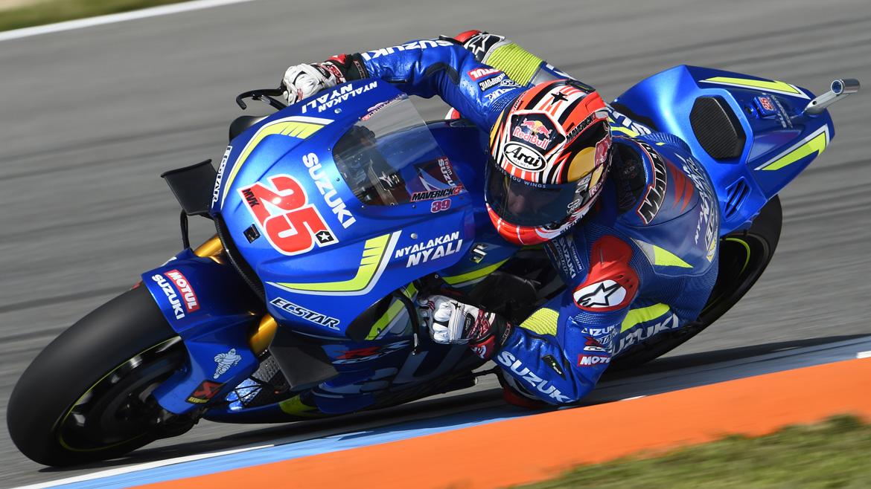 Viñales, Lorenzo y Márquez empiezan mandando en Silverstone