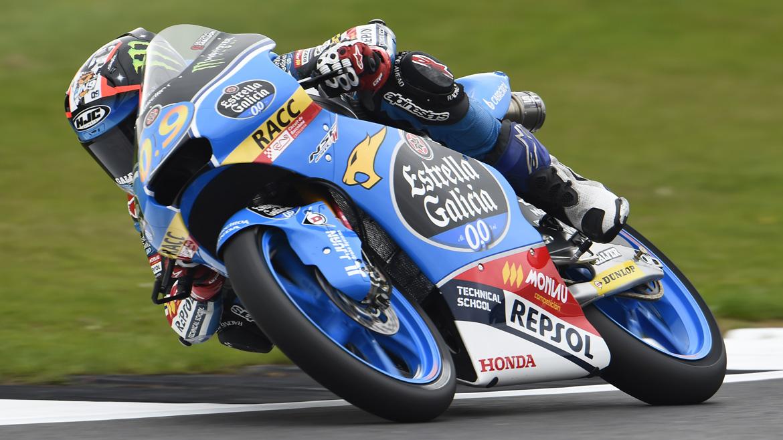 Jorge Navarro, el más rápido el viernes en Silverstone