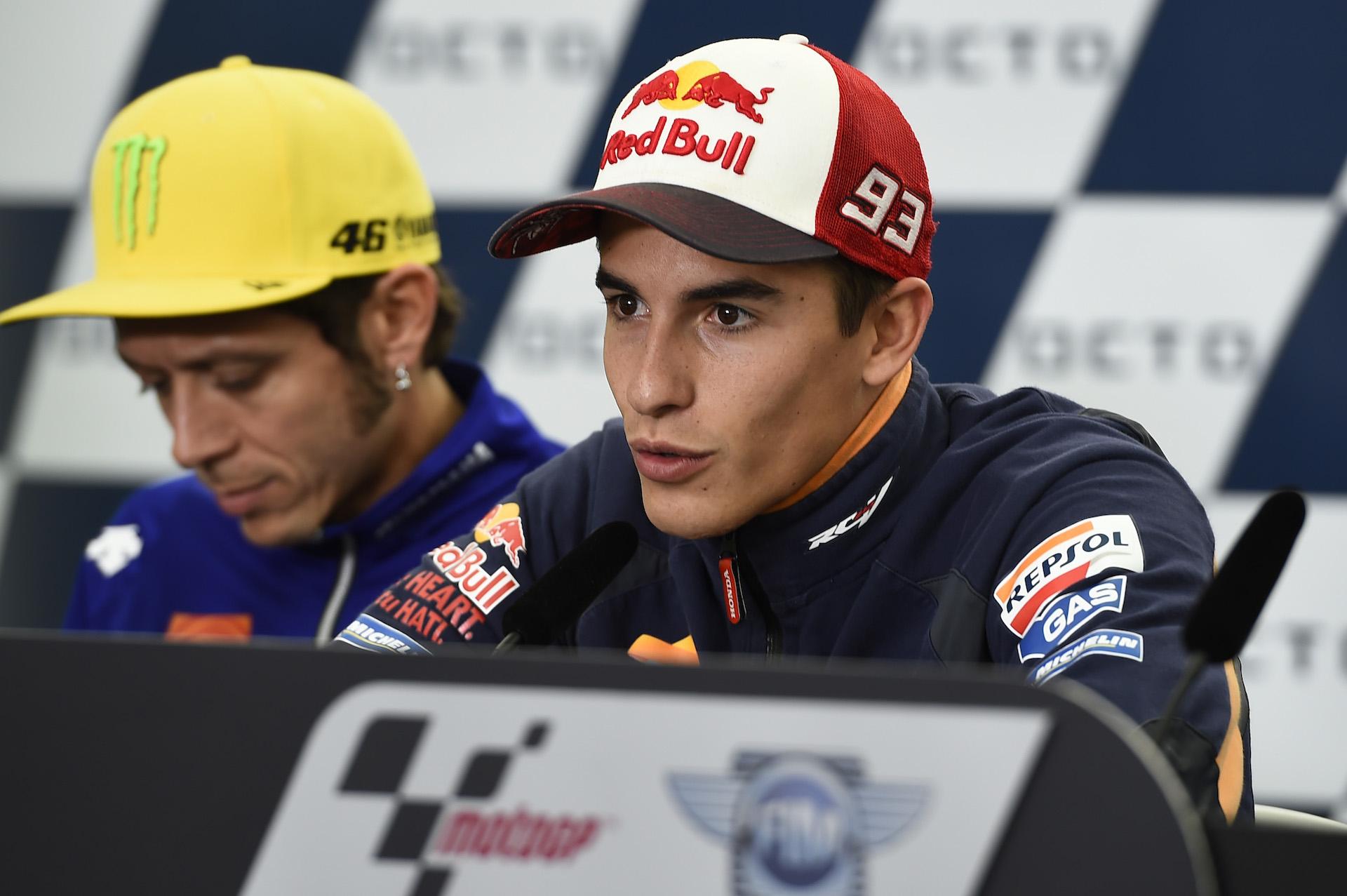 """Marc Márquez, sin excusas en Silverstone: """"Los baches están ahí, pero están para todo el mundo"""""""