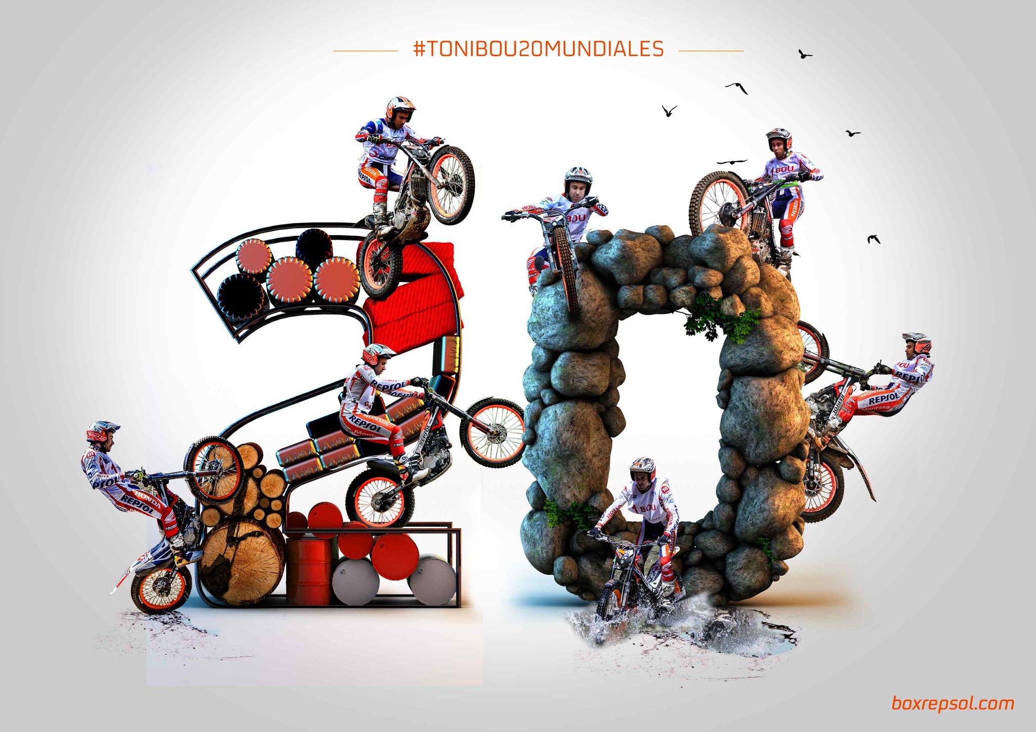 Toni Bou gana su 20º Campeonato del Mundo de Trial