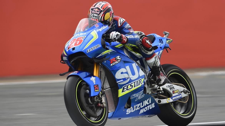 Maverick Viñales se estrena en MotoGP a lo grande