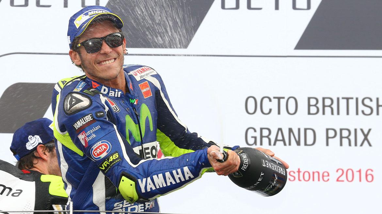 """Valentino Rossi: """"La diferencia con Malasia es que aquí los dos hemos luchado por ir rápido"""""""