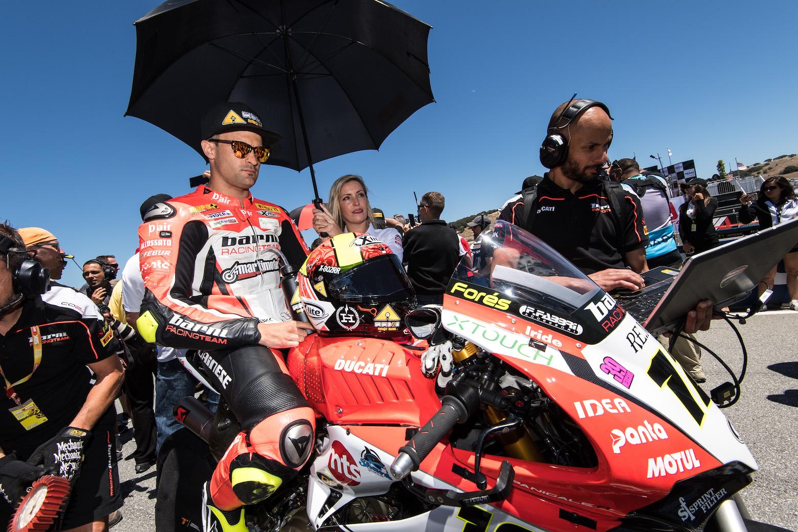 Xavi Forés en MotoGP con Avintia y Ducati