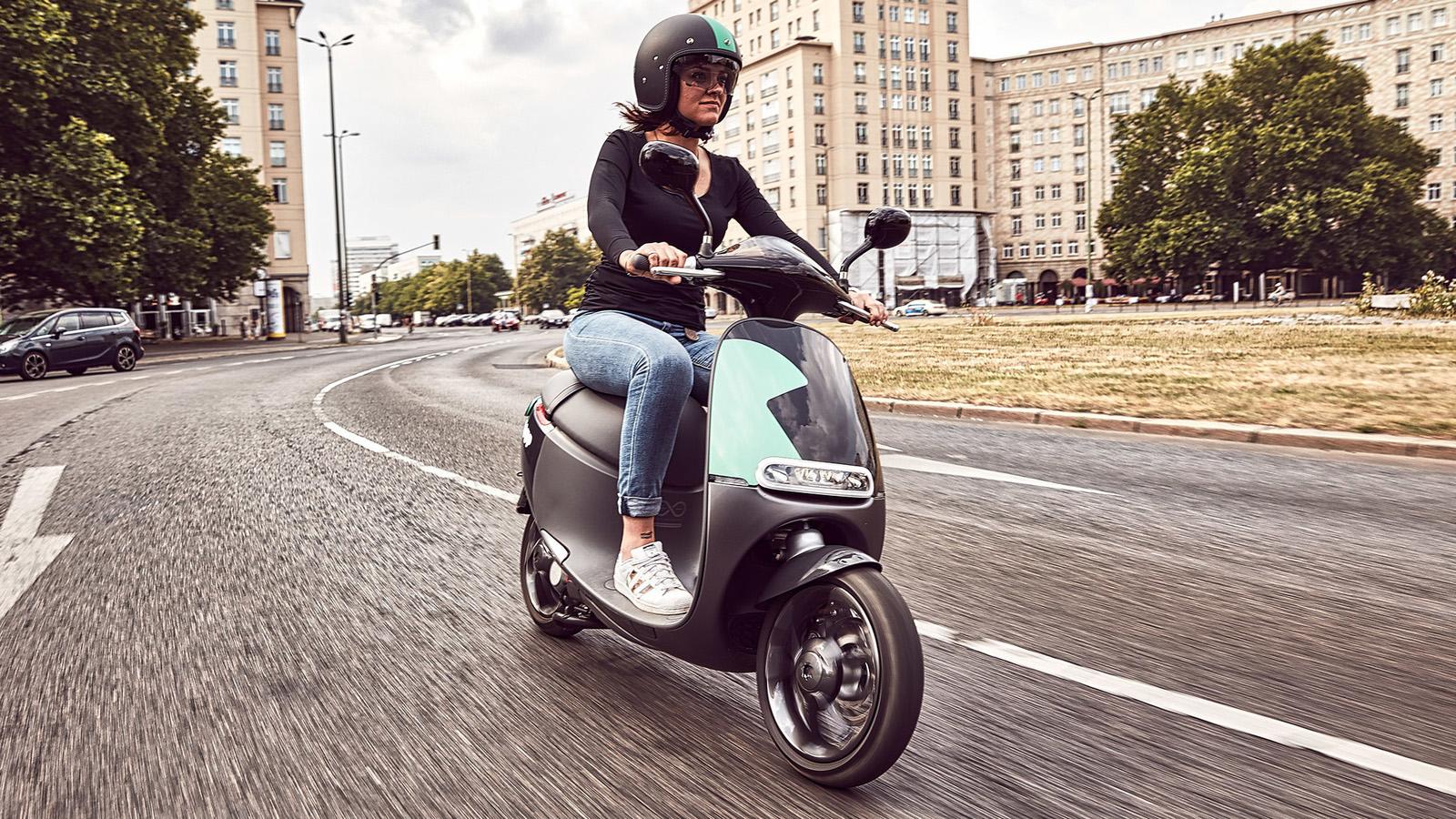 """Bosch estrena servicio """"eScooter sharing"""""""