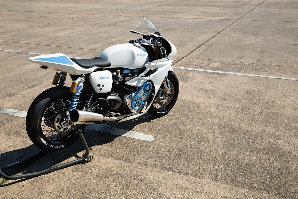 Así suenan las Triumph Thruxton R sobre-alimentadas del Glemseck 101