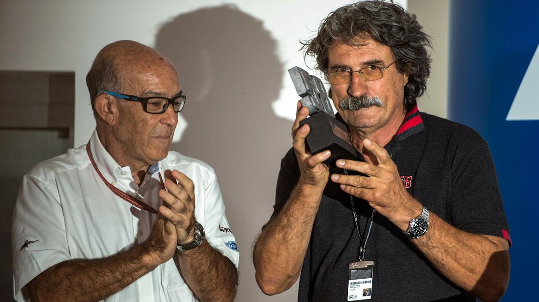 Retirada pactada del #58 de Marco Simoncelli