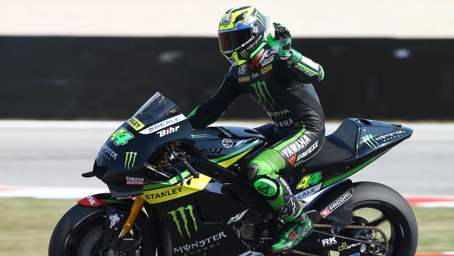 """Pol Espargaró: """"Ser primero es la hostia. ¡Tendré que romper la moto más a menudo! (risas)"""""""