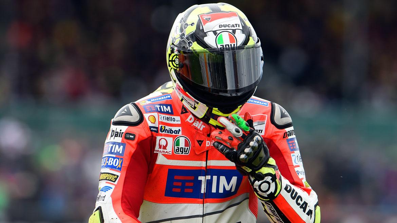 Andrea Iannone no disputará el GP de San Marino