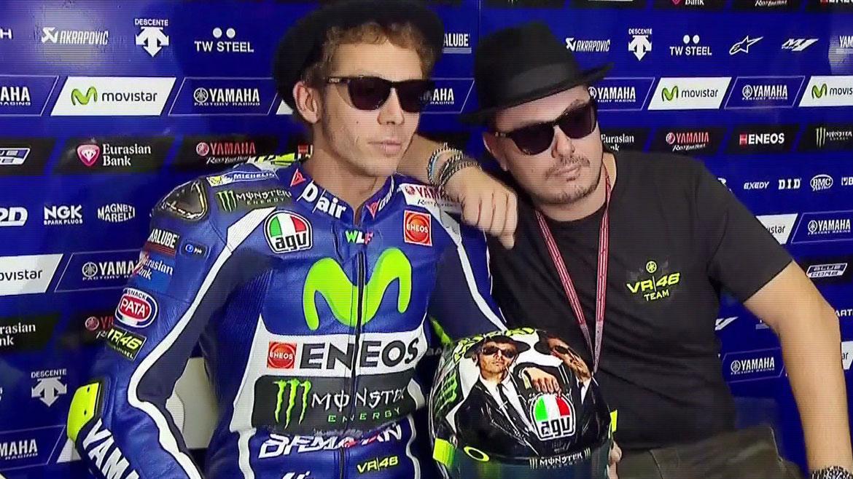 Rossi y Uccio, los Blues Brothers de Misano 2016
