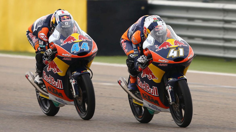 KTM confirma su presencia en Moto2 con Brad Binder y Miguel Oliveira en 2017