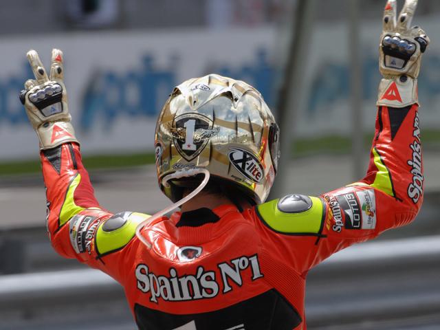 Jorge Lorenzo habla tras su segundo título de Campeón del Mundo de Motociclismo