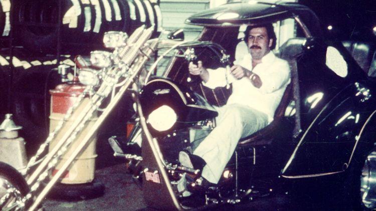 Pablo Escobar y las motos
