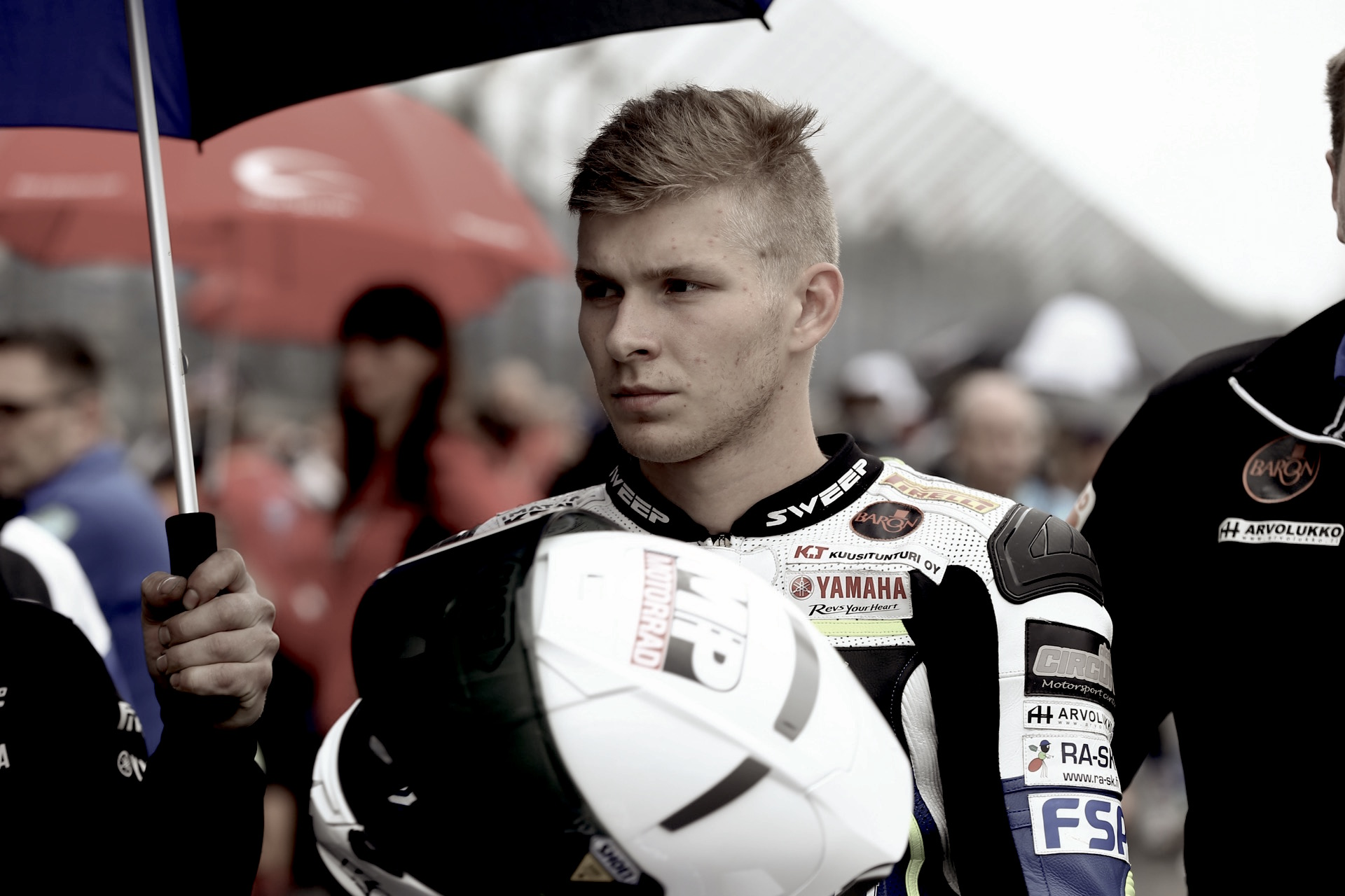 Niki Tuuli, el vendaval de Imatra en Supersport