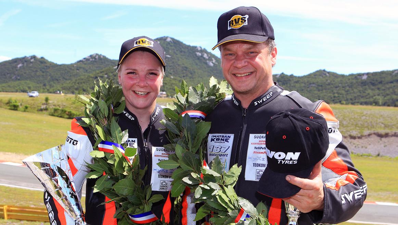 Kirsi Kainulainen, primera campeona mundial en categoría absoluta