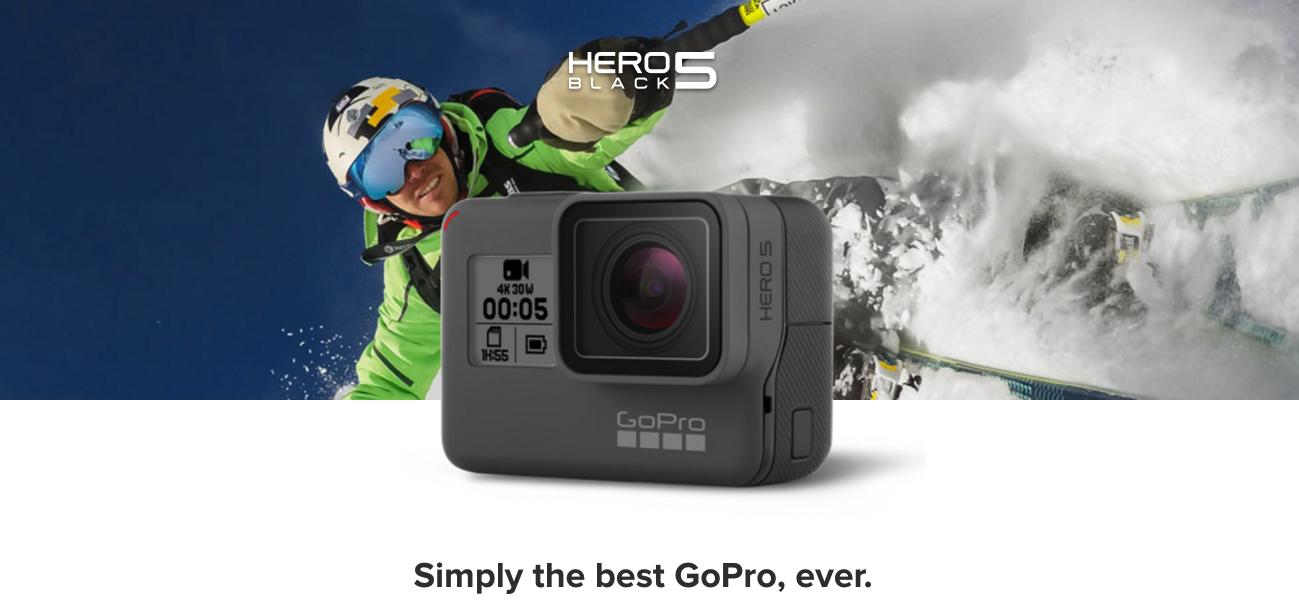 GoPro HERO5 Black, adiós a las carcasas y con control por voz