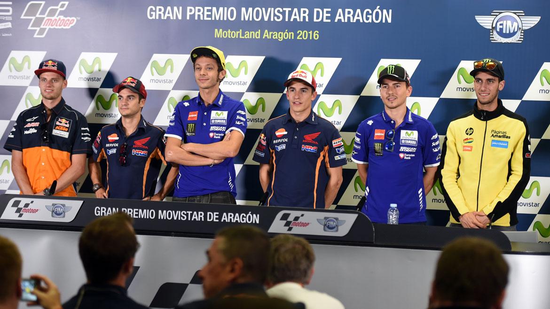 """Valentino Rossi: """"Lo único malo de las últimas carreras ha sido no ganar"""""""