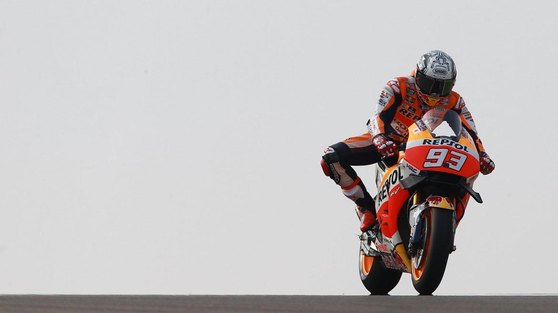 Márquez prolonga su idilio con MotorLand con una nueva pole