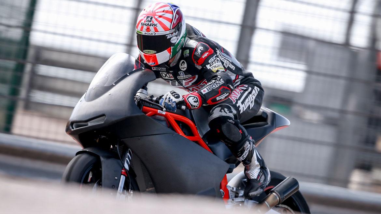 Los pilotos de Moto2 y Moto3 completan una jornada de test en Aragón