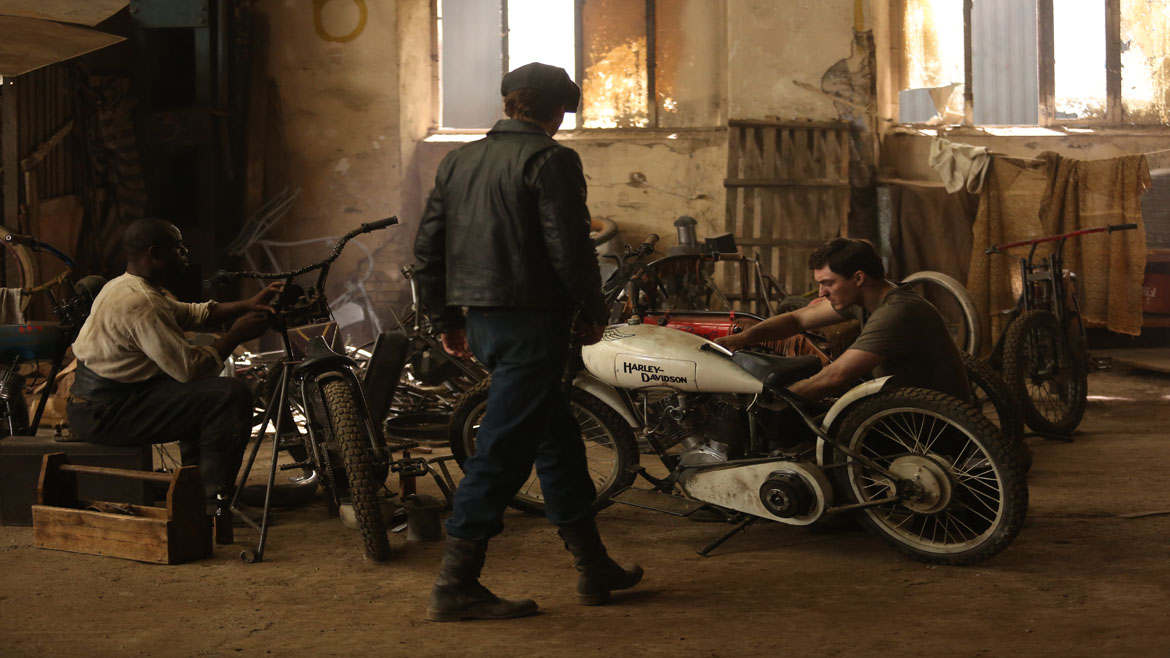 "Este viernes arranca la serie ""Harley and the Davidsons"""