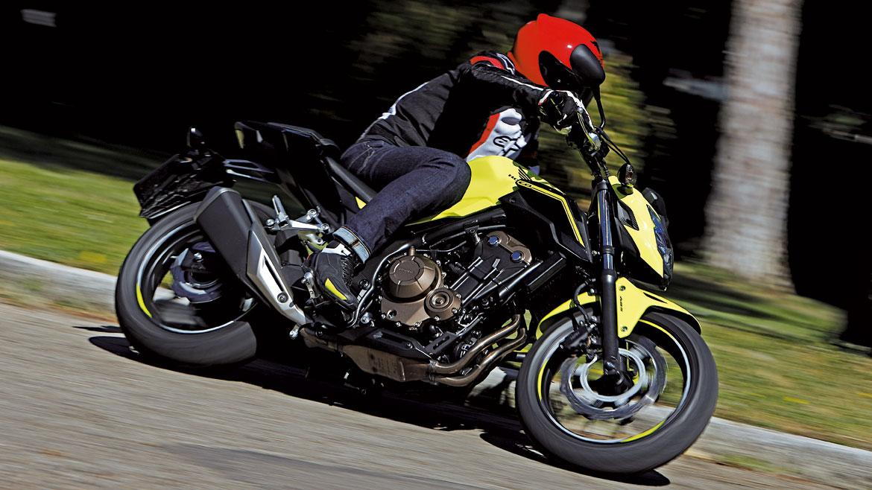 Honda CB500F: renovación estética