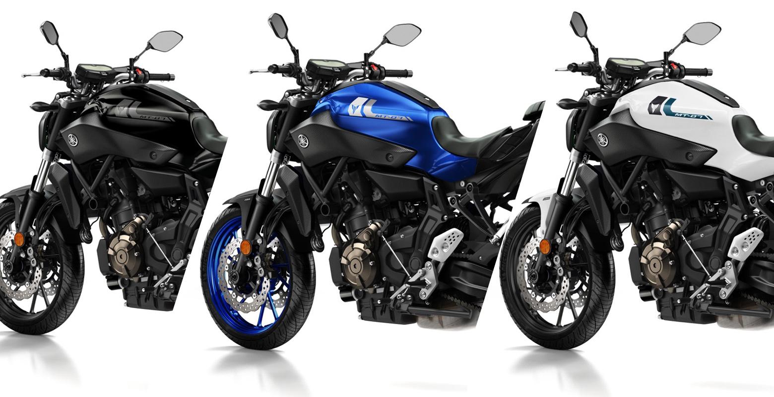 Yamaha MT-07 2017, acertadísimos nuevos colores para la súper ventas