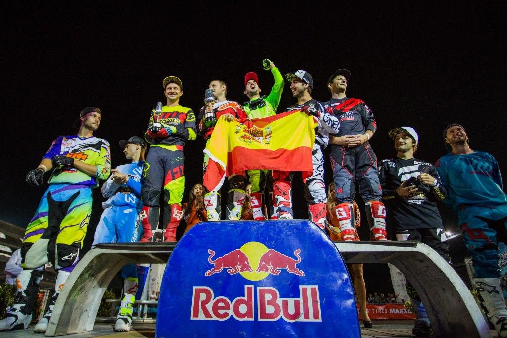 El equipo español de FMX conquista los cielos de Jerez