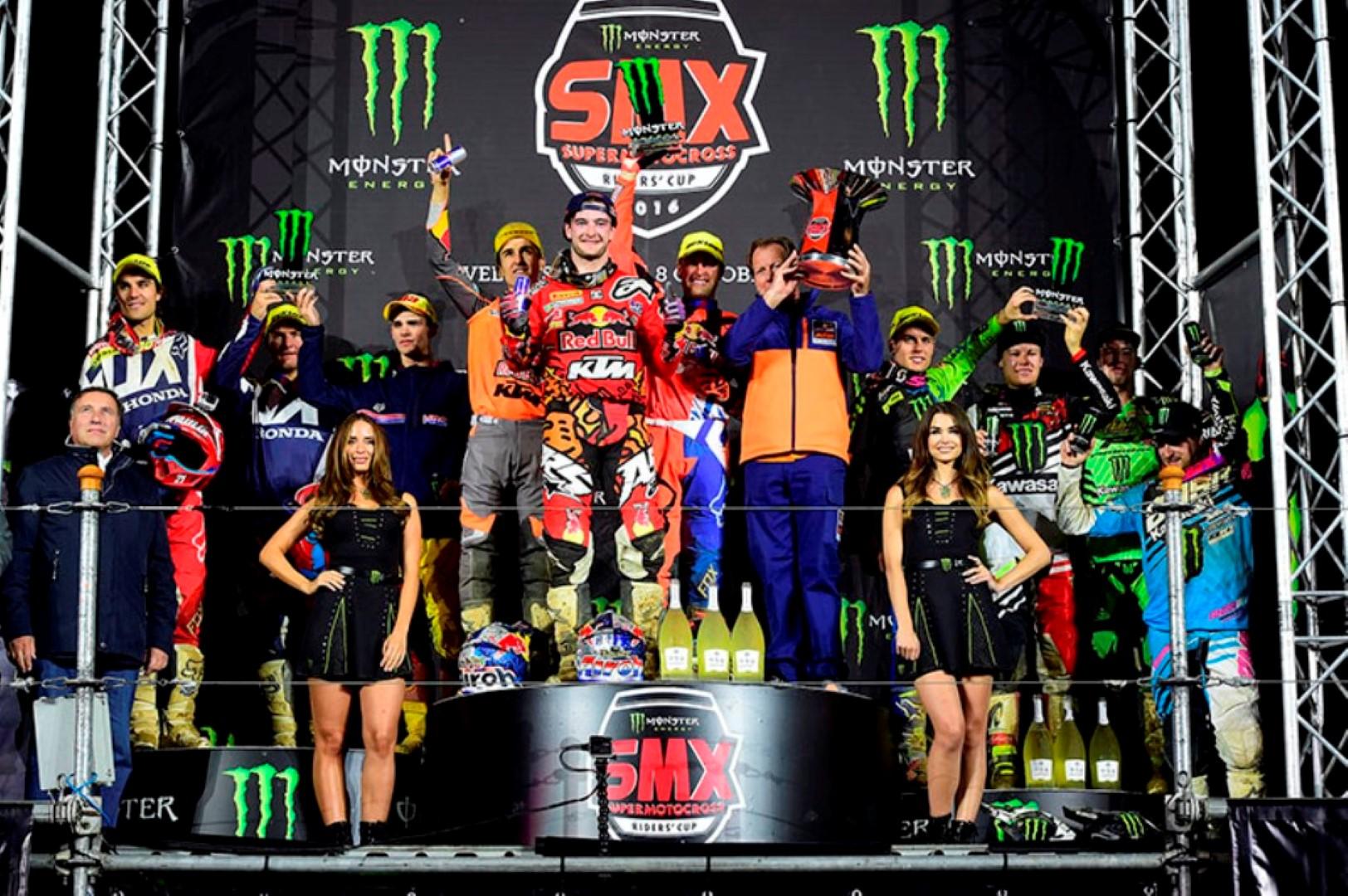 KTM gana la primera SMX Cup, competición por marcas de súpercross