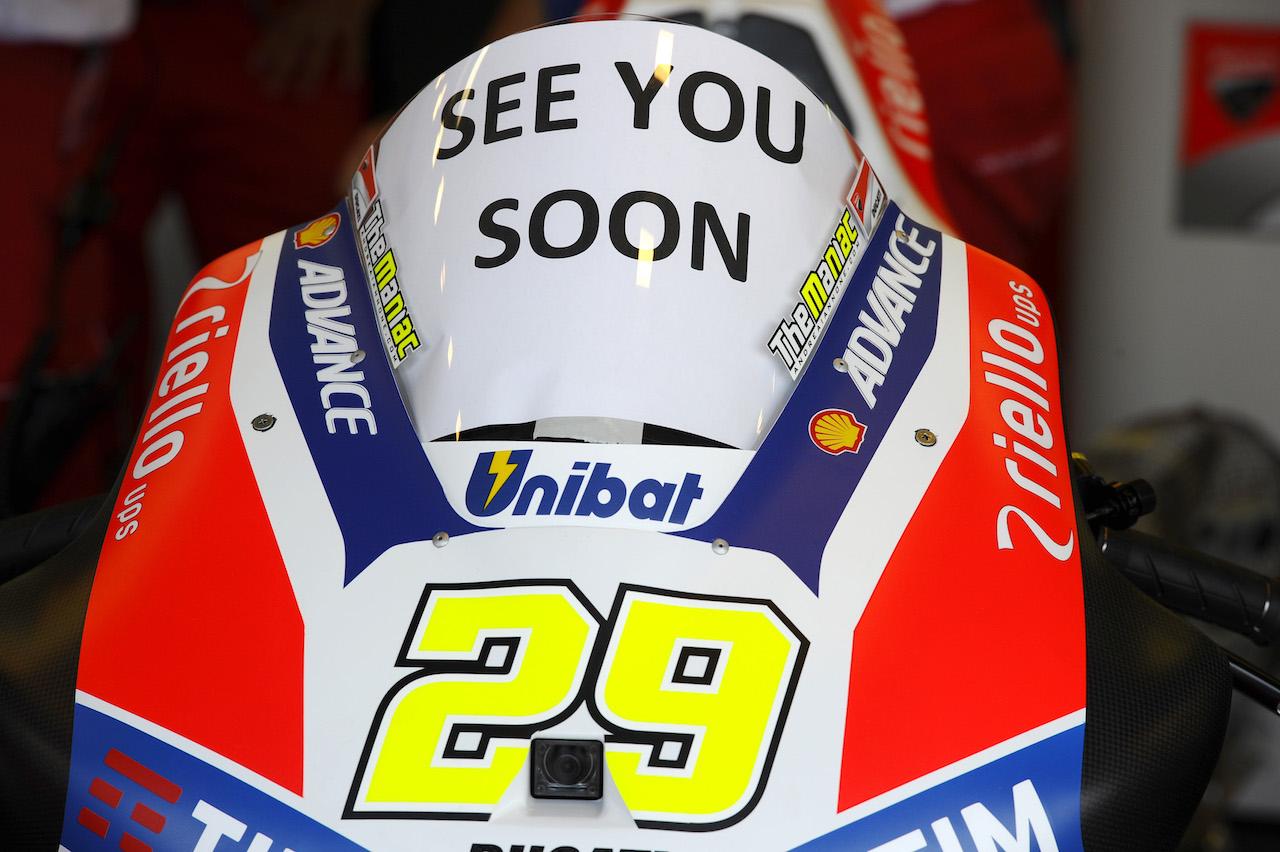 Andrea Iannone no participará en el Gran Premio de Japón