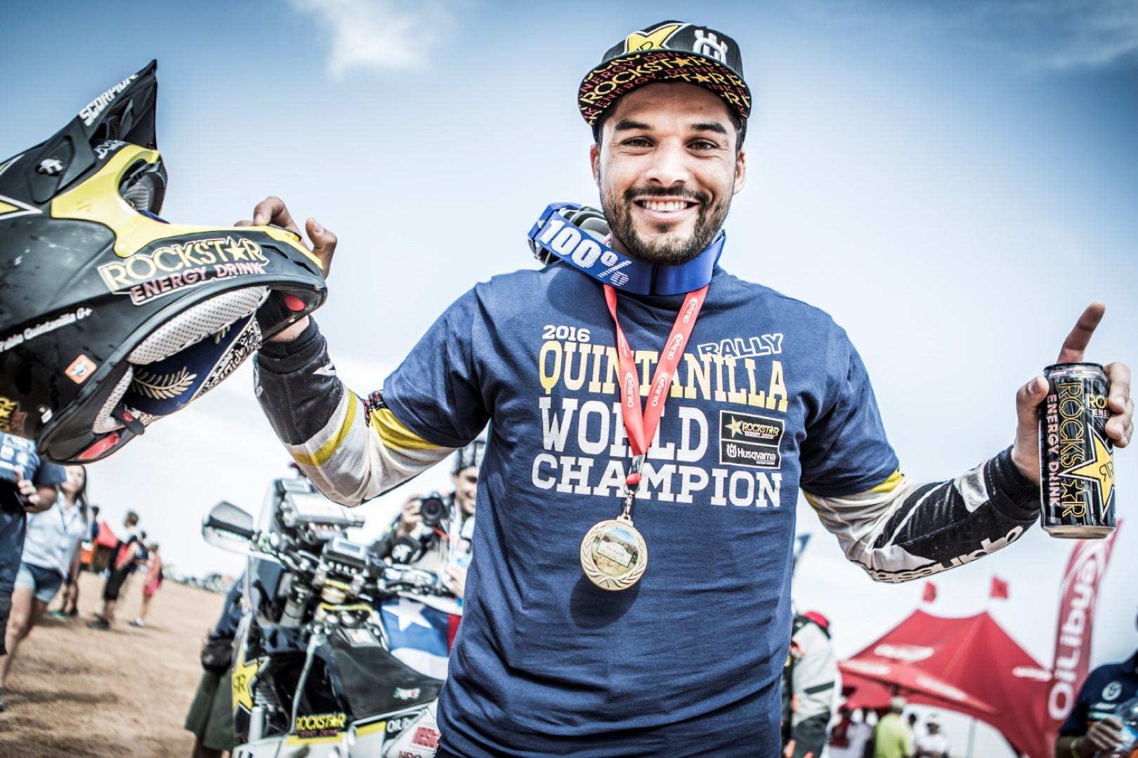 Pablo Quintanilla, Campeón del Mundo de Rally T.T.