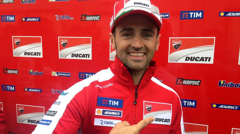 """Héctor Barberá: """"Antes de venir, soñé que hacía podio en Motegi"""""""