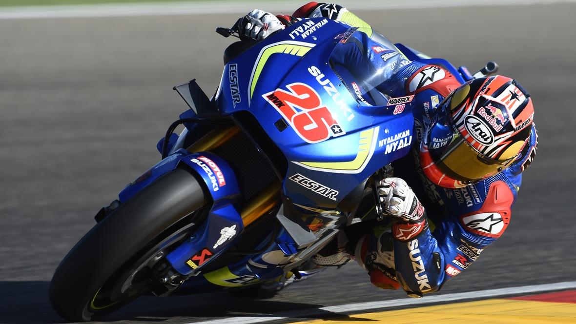 """Maverick Viñales: """"Estoy súper agradecido a Suzuki por permitirme probar la Yamaha"""""""