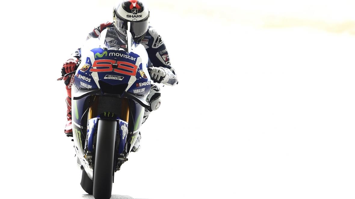 Jorge Lorenzo empieza mandando en el GP de Japón