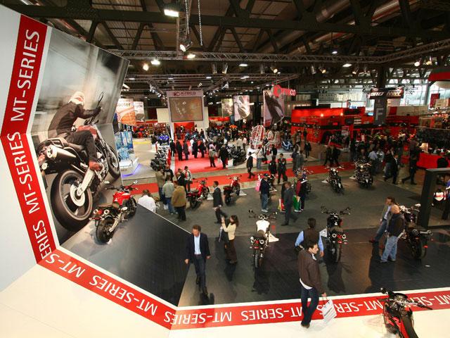Salón de la moto de Milán EICMA 2007