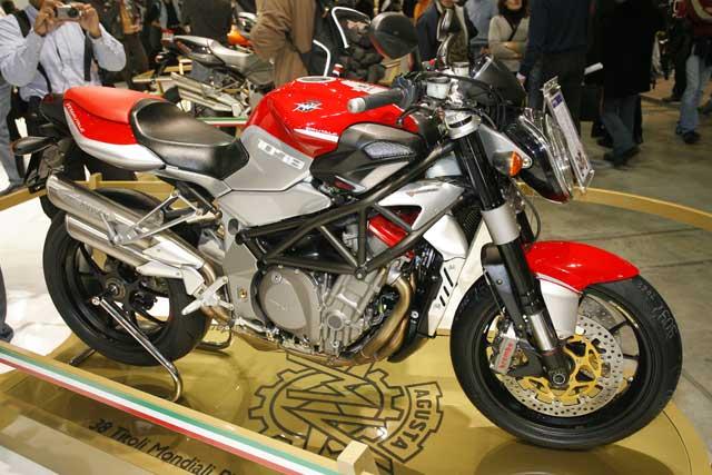 Novedades 2008: MV Agusta Burtale 989 R y Brutale 1078 RR