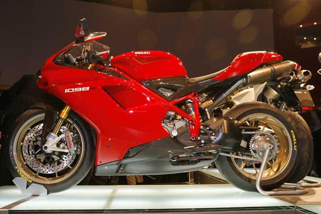 Novedades 2008: Ducati 1098 R