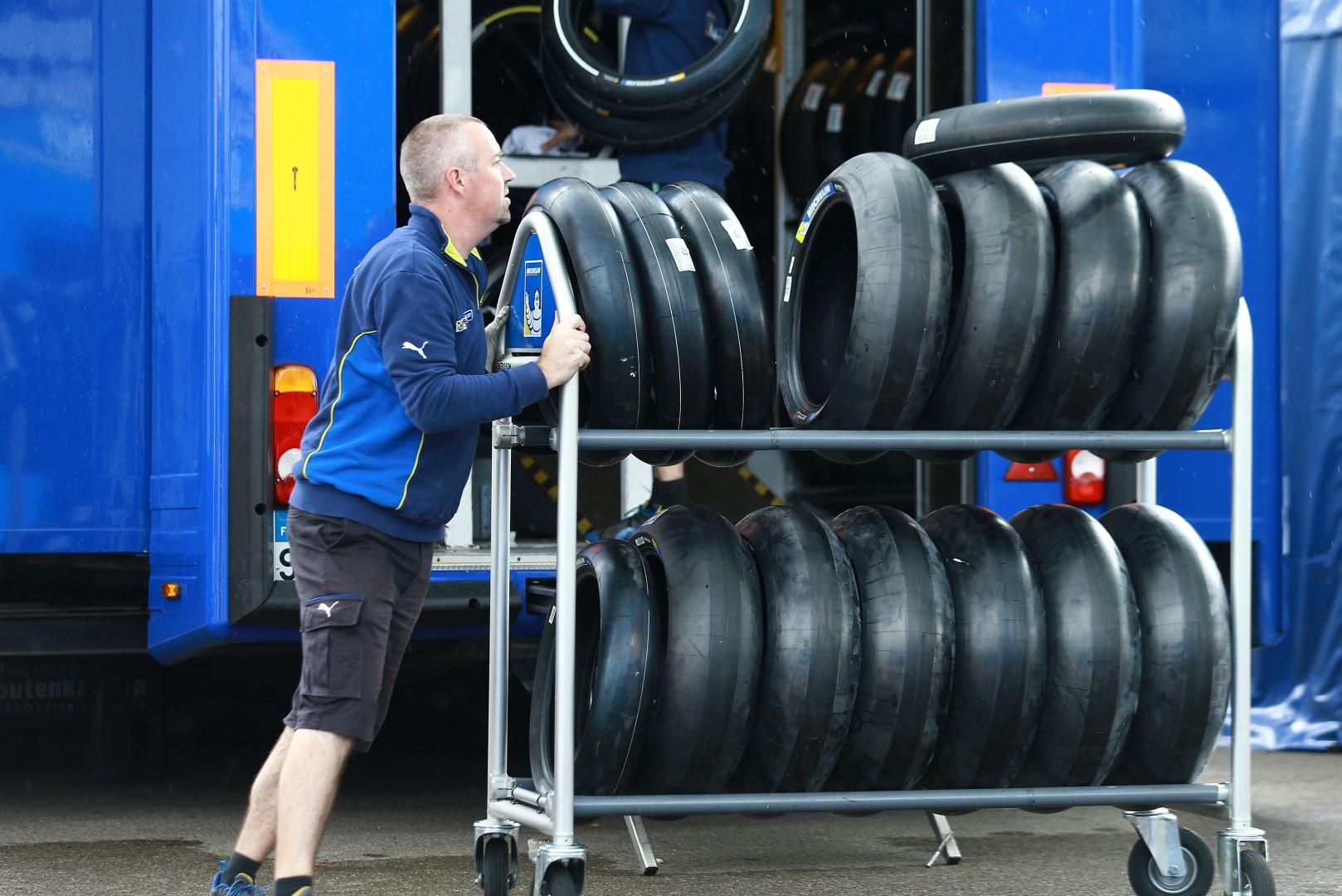 Duro fin de semana para Michelin en el Gran Premio de Japón