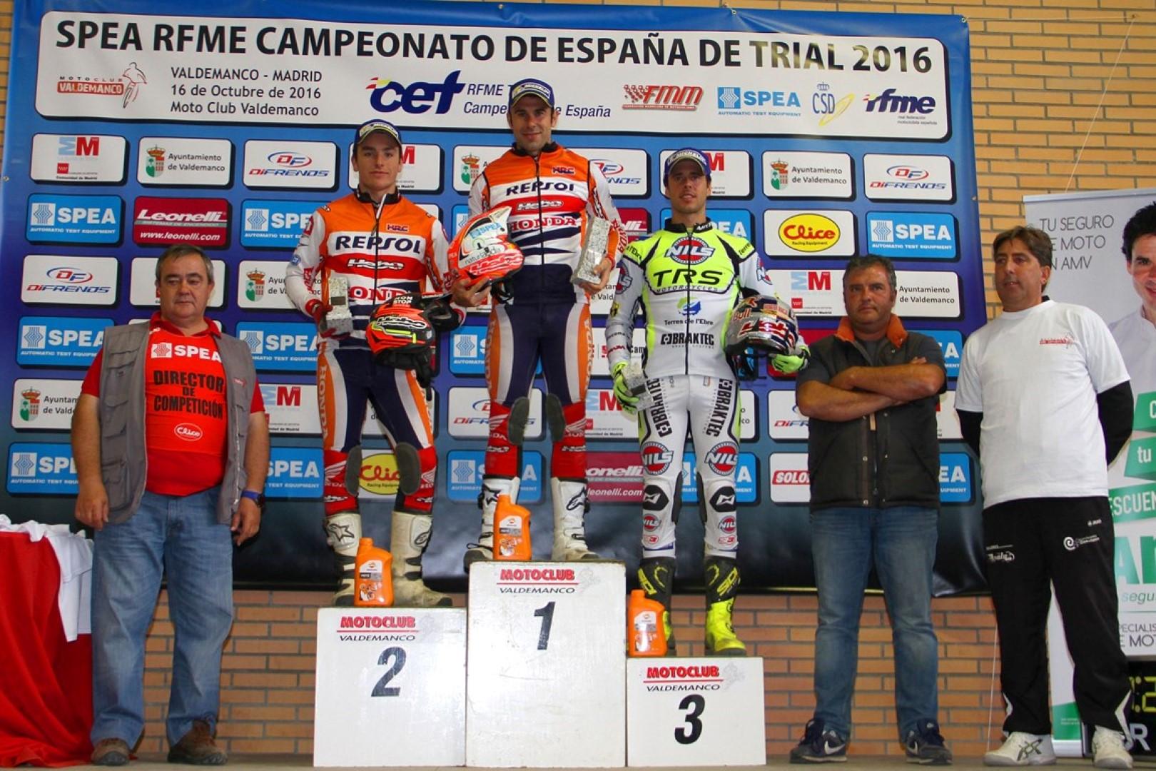 Toni Bou: muy cerca del título de Campeón de España