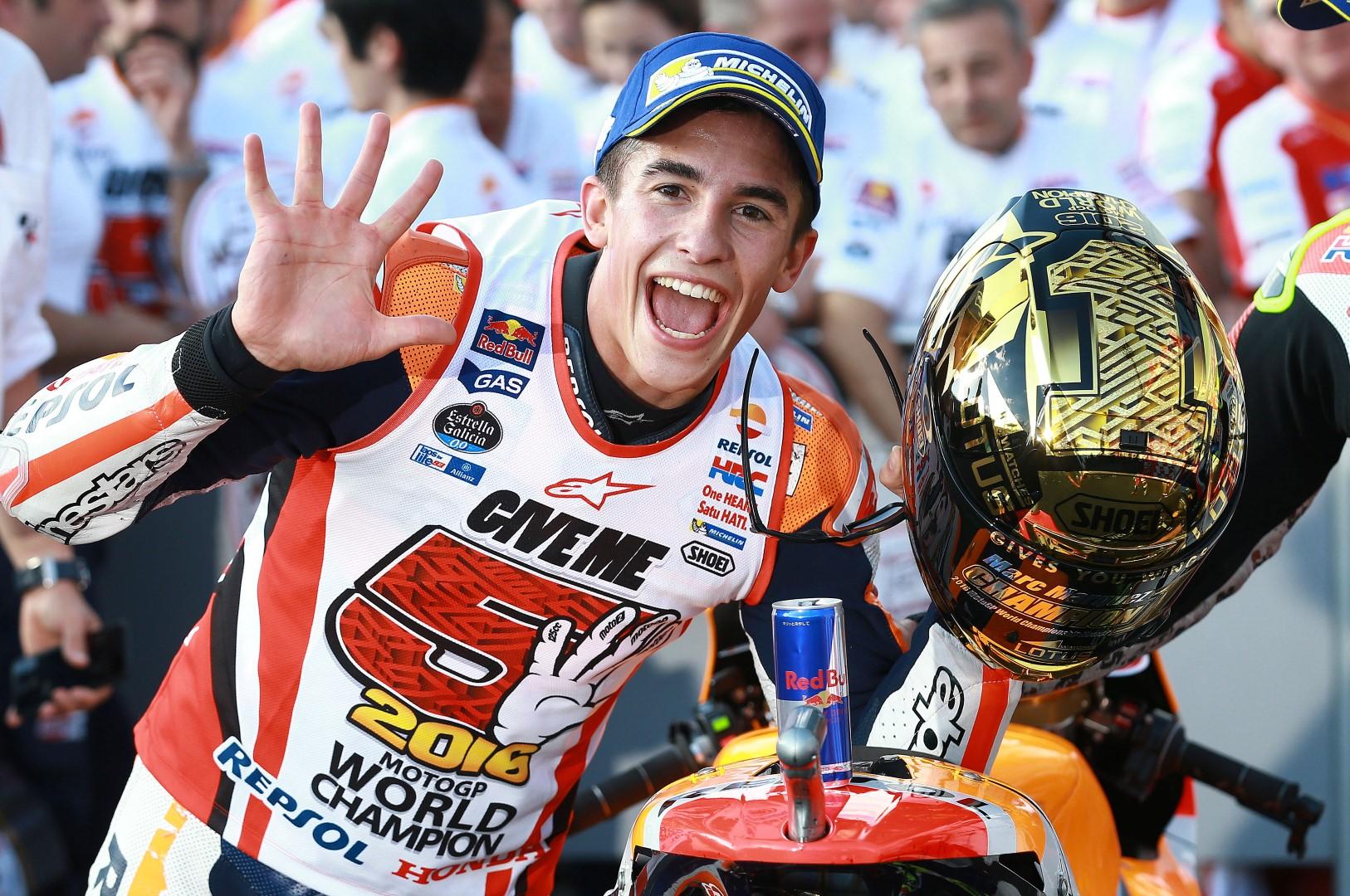Marc Márquez campeón, celebramos su título de MotoGP