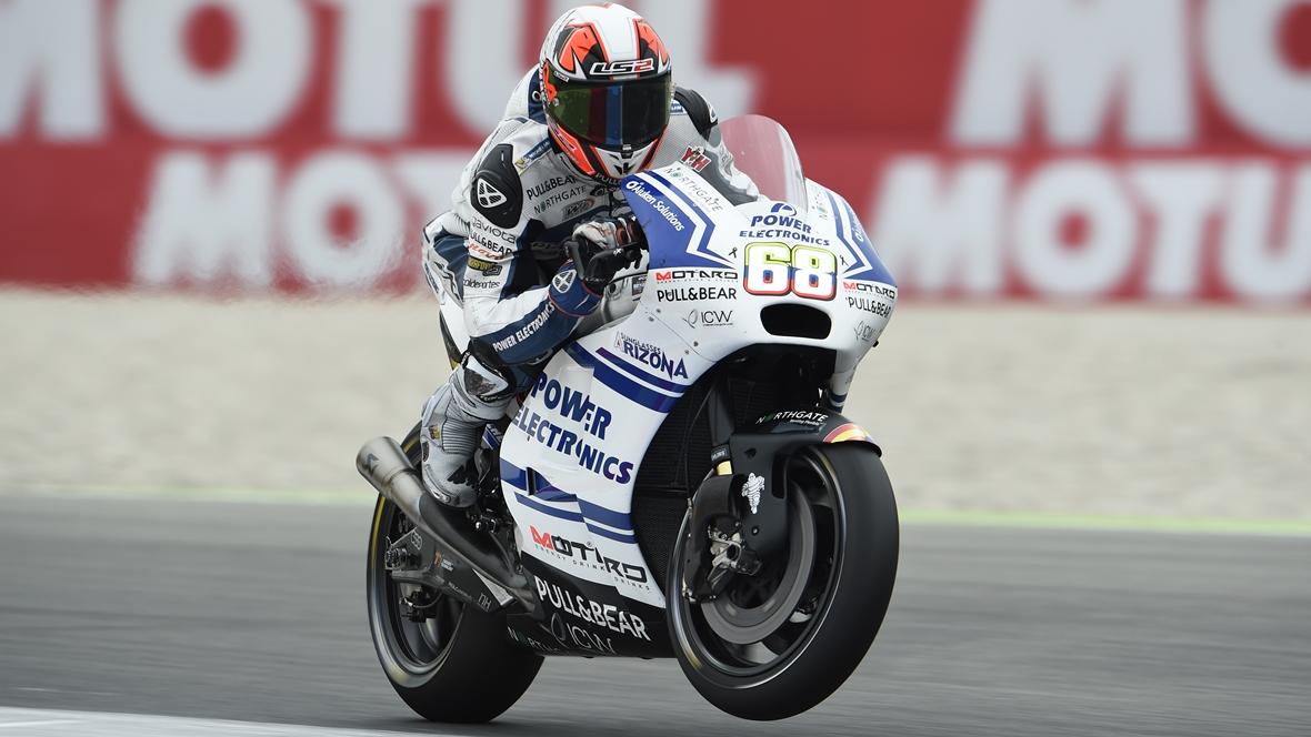Yonny Hernández volverá a Moto2 en 2017 con el AGR Team