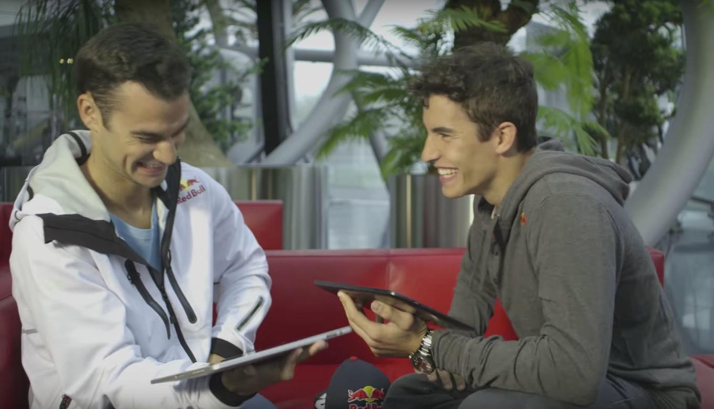 Dani Pedrosa y Marc Márquez se entrevistan el uno al otro